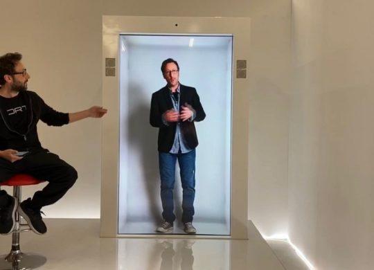 PORTL portail holographique