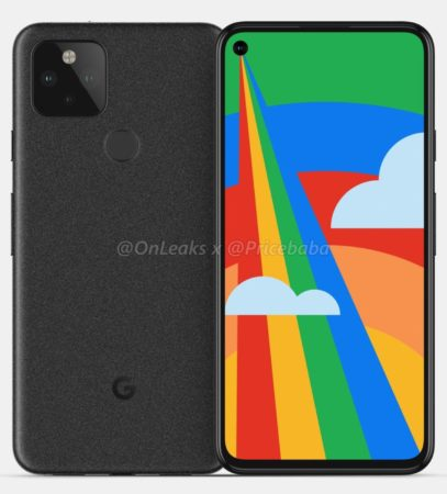 Pixel 5 Leak 4 407x450