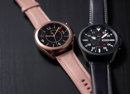 Samsung-Galaxy-Watch-3 Noir et Bronze