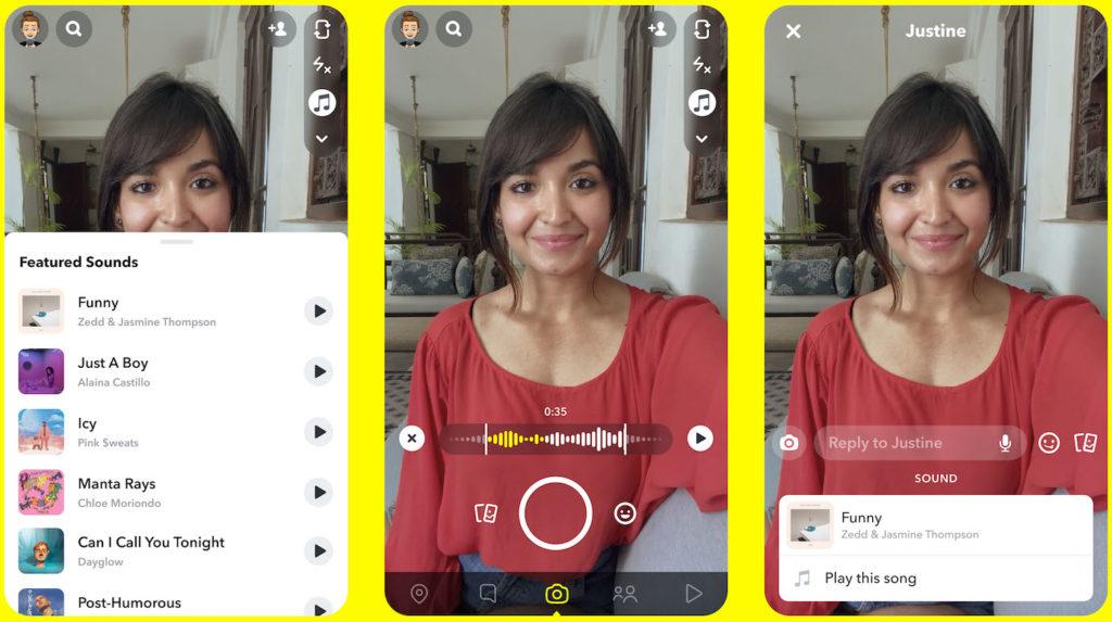 Snapchat Ajout Musique Video 1024x573