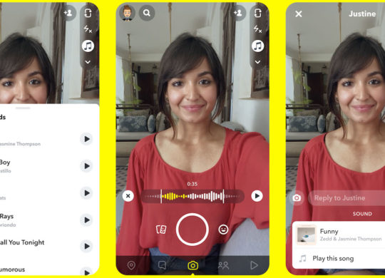 Snapchat Ajout Musique Video