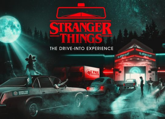 Stranger things drive through