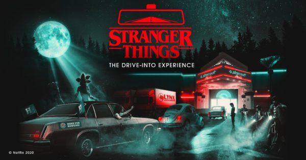 Stranger Things Drive Through 600x314