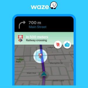 Image article Waze : les alertes pour les passages à niveau sont disponibles partout