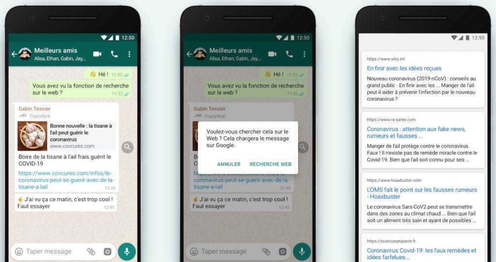 WhatsApp Outil Recherche Lutte Fake News 1024x541