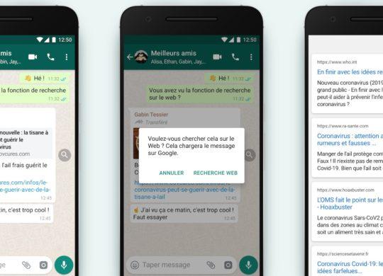 WhatsApp Outil Recherche Lutte Fake News