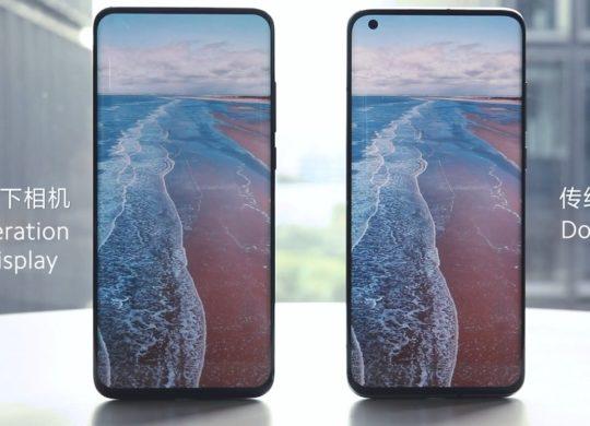 Xiaomi Smartphone Camera Sous Ecran