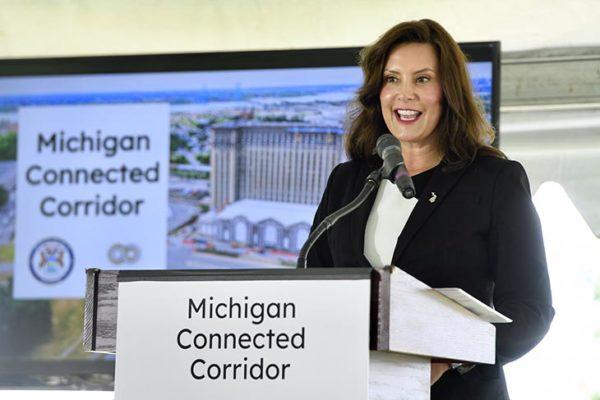 Gov Gretchen Whitmer Michigan Connected Corridor 600x400
