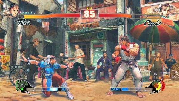 Street Fighter 4 600x338