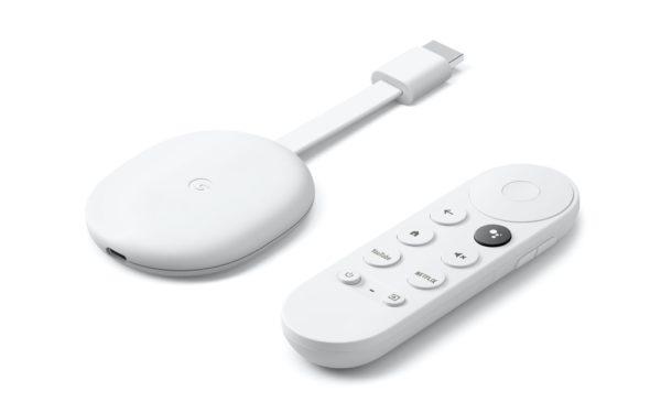 Chromecast avec Google TV et Télécommande