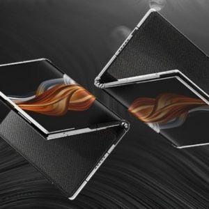 Image article FlexPai 2 : Royole monte en gamme son smartphone pliable (Snapdragon 865, bloc photo 4 capteurs, 5G, etc.)