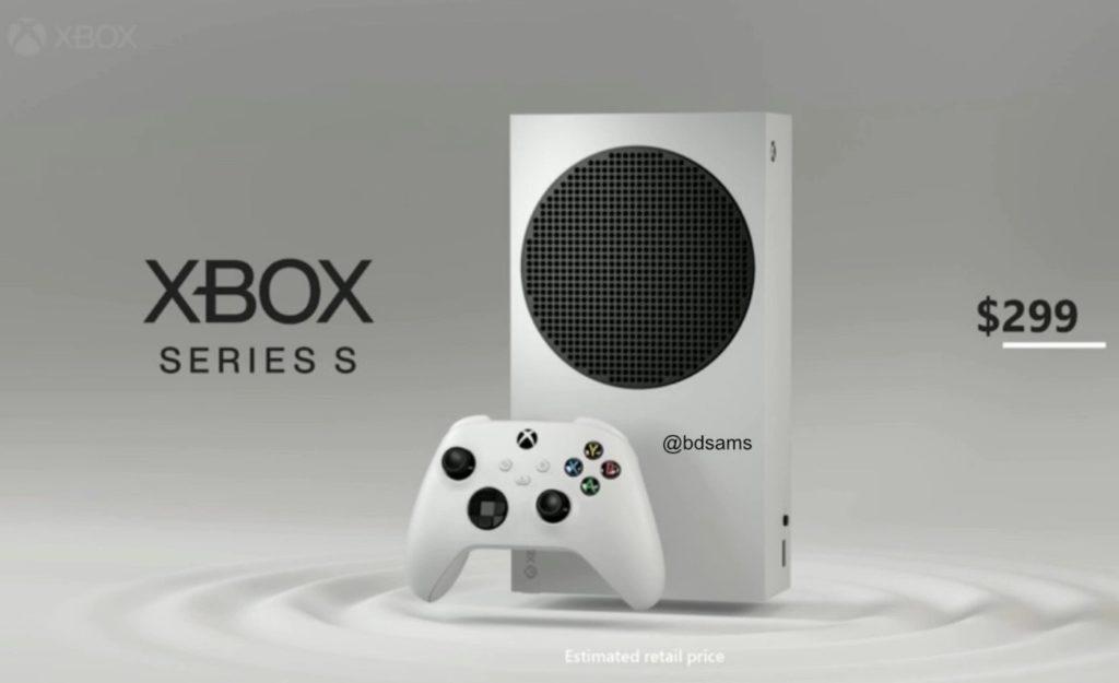 Fuite Xbox Series S Design 1024x625