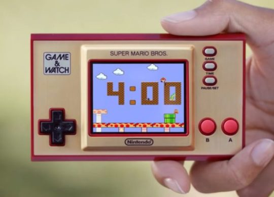 Game & Watch Super Mario bros