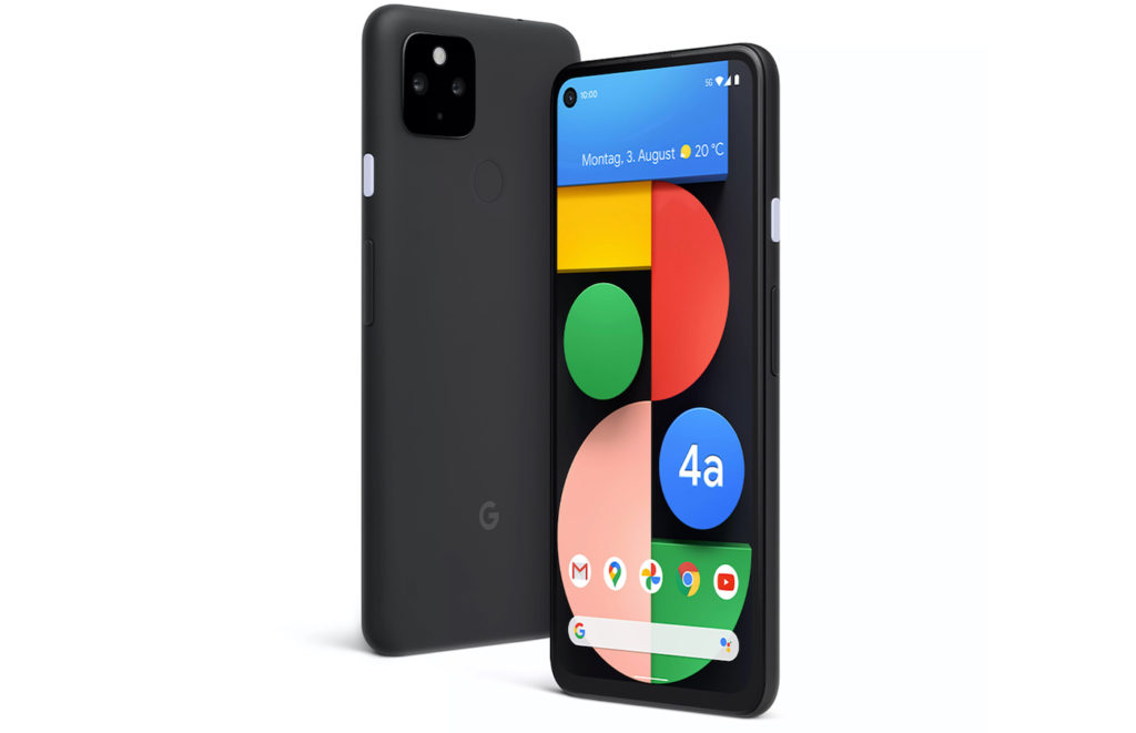 Google Pixel 4a 5G Avant Arriere 1024x661