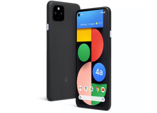 Google Pixel 4a 5G Avant Arriere