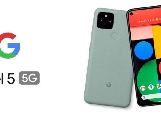 Google Pixel 5 Avant Arriere Sauge