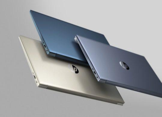 HP laptop ecolo recyclage plastique