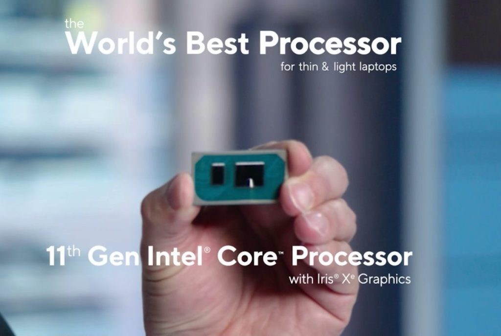 Intel Processeur Tiger Lake 1024x687