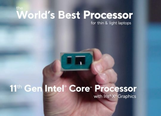 Intel Processeur Tiger Lake