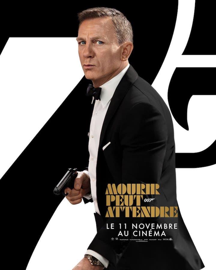 James Bond Mourir Peut Attendre Affiche