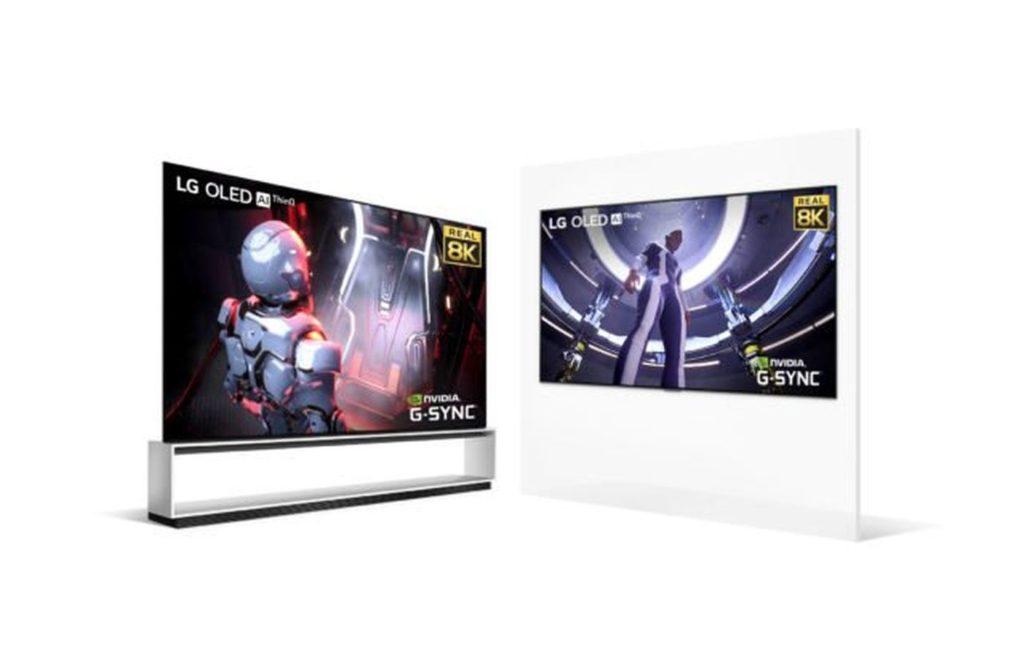 LG TV OLED 8K Nvidia RTX 3090 1024x651