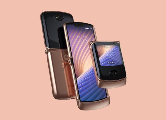Nouveau Motorola Razr 2020 Officiel Deplie 3
