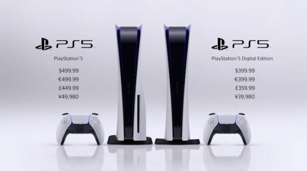 PlayStation 5 Prix 600x335
