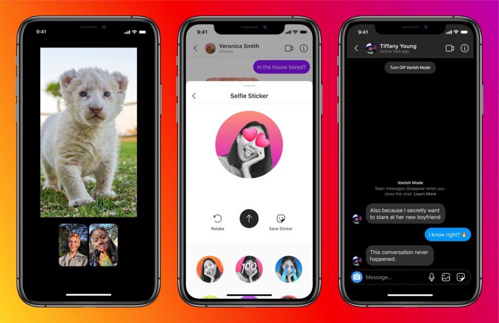 Regroupement Messageries Messenger Instagram Fonctionnalites 1024x663