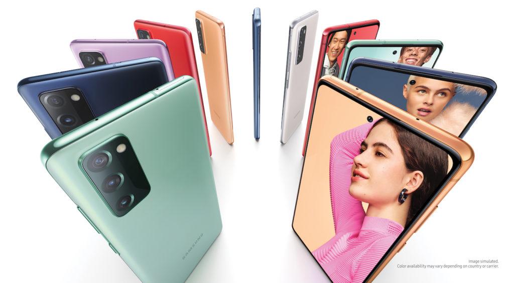 Samsung Galaxy S20 FE Coloris 1024x564