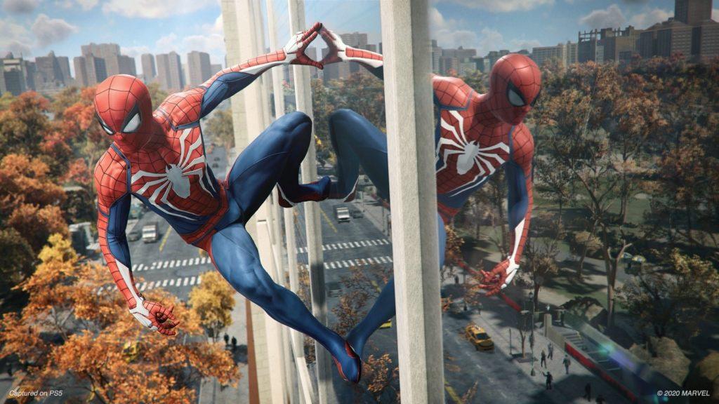 Possibilité de transférer la sauvegarde de Spider-Man PS4 vers Spider-Man PS5