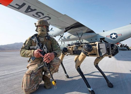 US Air Force Chien robot