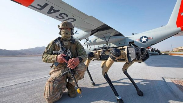 US Air Force Chien Robot 600x337