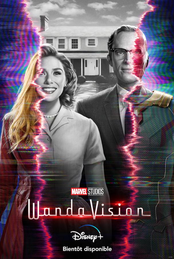 La série WandaVision sortira le 15 janvier 2021 sur Disney+