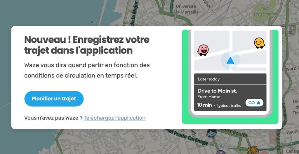 Waze Envoi Trajet PC Vers Smartphone 1024x530