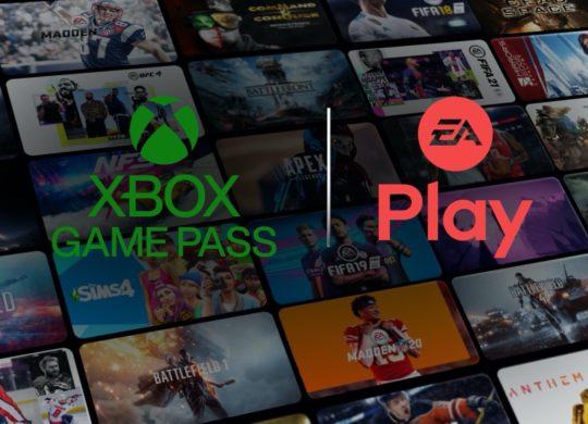 Xbox Game Pass et EA Play