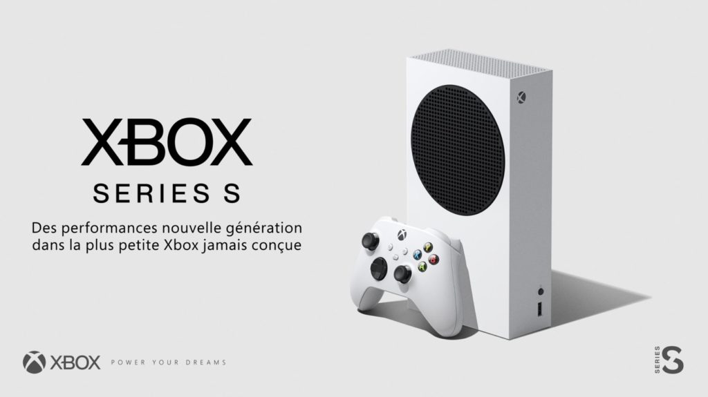 Xbox Series S Officiel Console et Manette