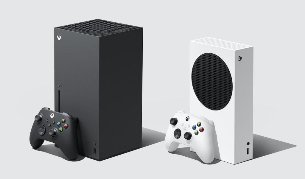 Xbox Series X Et Xbox Series S Et Manettes 1024x601