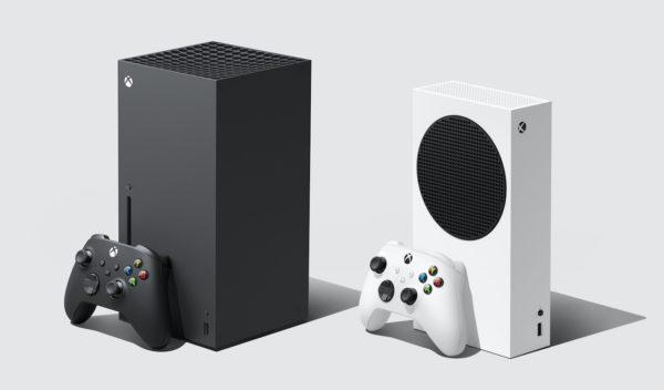 Xbox Series X Et Xbox Series S Et Manettes 600x352