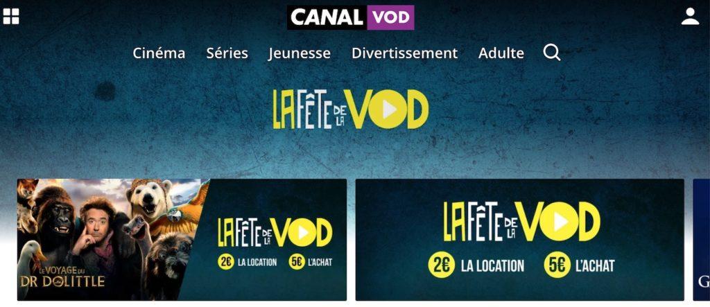 Canal VOD Fête de la VOD