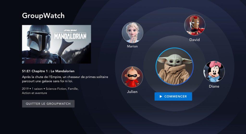 Disney Plus GroupWatch