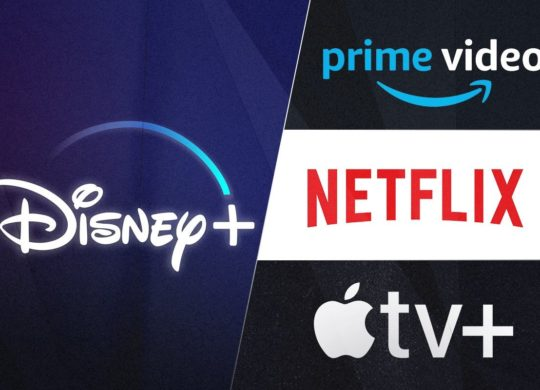 Disney Plus vs Amazon Prime Video vs Netflix vs Apple TV Plus Logos