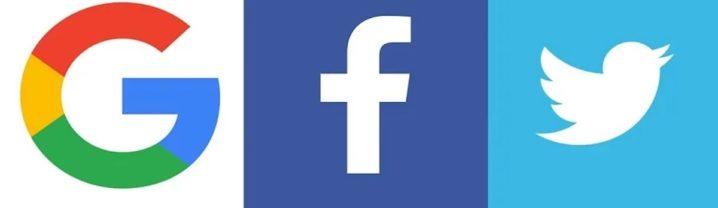 Google Facebook Twitter Logo