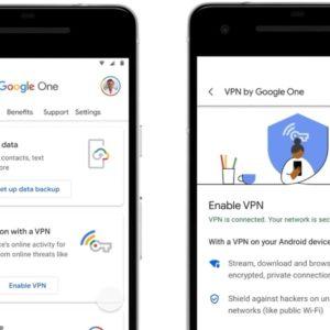 Image article Google lance son VPN et le propose avec Google One