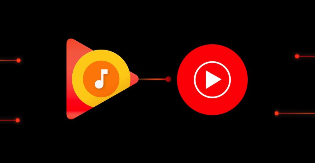 Google Play Musique vers YouTube Music