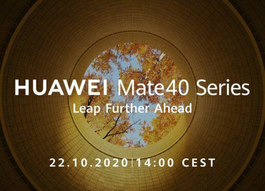 Huawei Mate 40 22 Octobre 2020