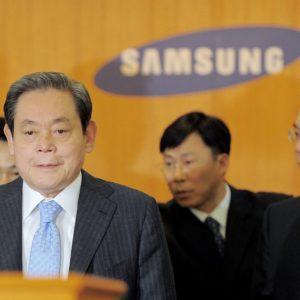 Image article Lee Kun-Hee, le président de Samsung, est mort