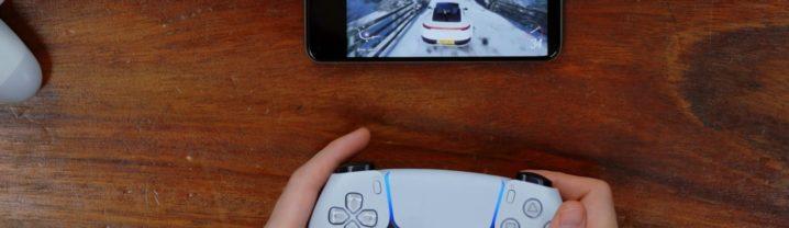 Manette DualSense PS5 sur Android