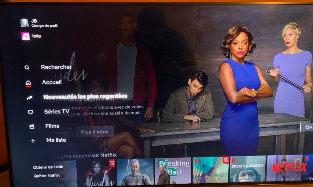 Netflix Onglet Nouveautés Les Plus Regardées