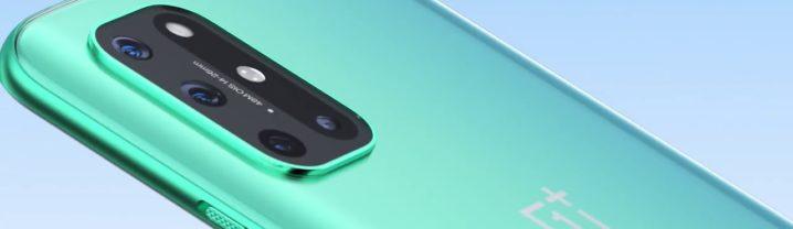 Arrière du OnePlus 8T et ses appareils photo