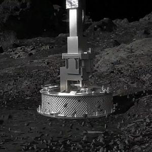 Image article La sonde Osiris-Rex a réussi son «Touchdown» sur l'astéroïde Bennu